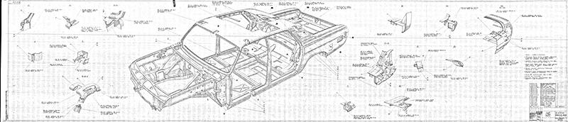 чертеж ГАЗ-24