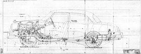 чертеж ГАЗ-21А