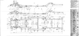 Drawing frame assy ZIL-114