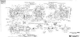 Чертеж двигателя ЗИС-110