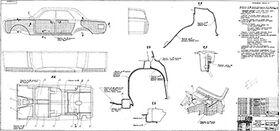Покрытие и промазка кузова ГАЗ-24 мастиками