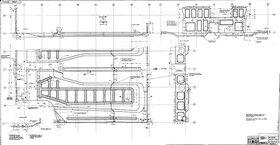 Панель переднего пола ЗАЗ-965 чертеж