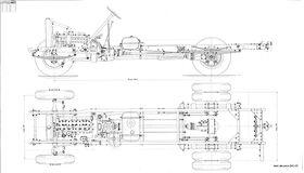 чертеж шасси ЗИС-5В