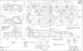 Головка блока цилиндров ГАЗ М-1