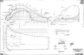 чертеж крыла ГАЗ М-1