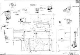 чертеж кабины ГАЗ-АА