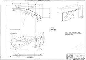 чертеж брызговика ГАЗ-72