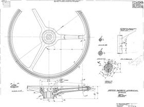 чертеж рулевого колеса М-1