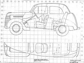 чертеж салона КИМ-10