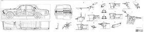 GAZ-24 body assembly